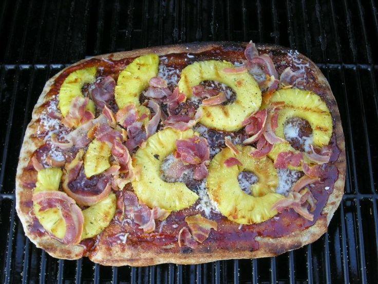 Grilled Pizza | consumption | Pinterest