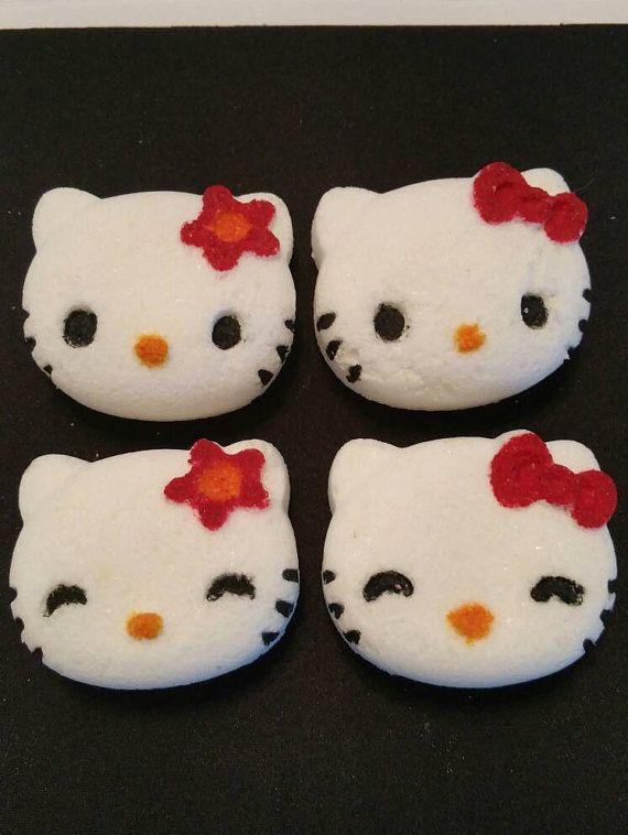 Hello Kitty Bath Bombs. 8 Adorable Bath Bombs for by LaBonitaPetra