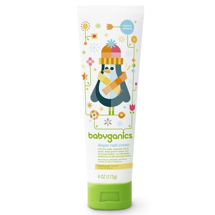 Babyganics 4 Oz Diaper Rash Cream Buybuy Baby Baby Rash