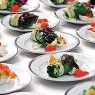 "Wedding Catering: Top 10 Catering Trends.  ""Want your reception to be unforgettable? Here's a little secret: it's all about the food."""