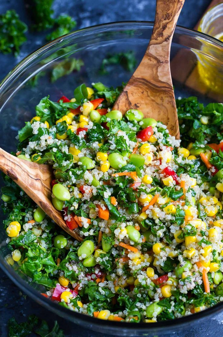 Healthy Quinoa Salad With Light Homemade Dressing Recipe Recipe Healthy Salad Recipes Superfood Salad Quinoa Healthy