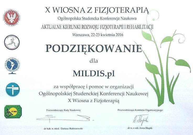 Konferencja Naukowa Wiosna z Fizjoterapią.