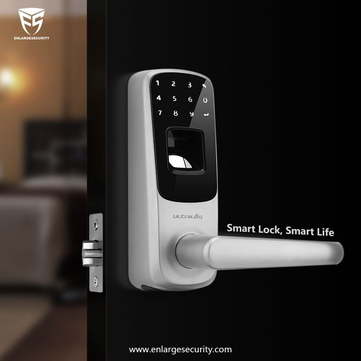 #smarthome #smartdoorlock Smart home, smart life. A smart door lock is the key to building a smart home.