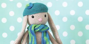 Conejo amigurumi a crochet