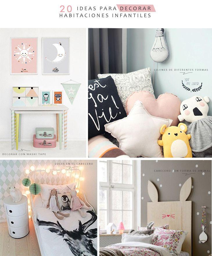 29 best kids rooms images on pinterest child room kid - Decorar habitaciones infantiles ...