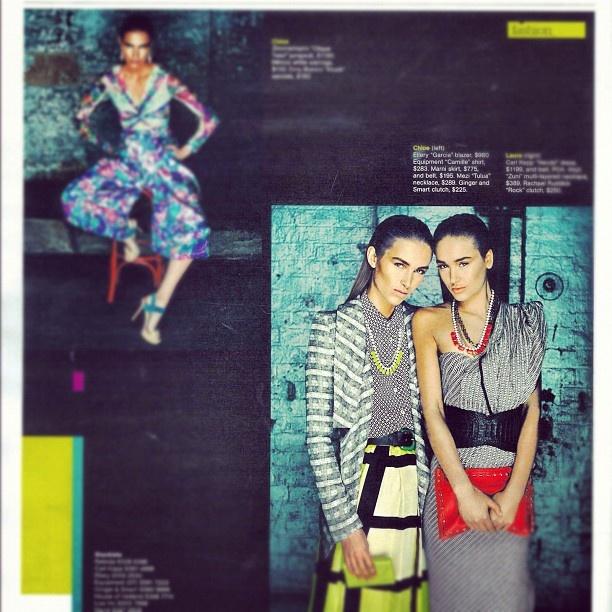 """@mezijewellery's photo: """"Amazing! #somezi #tulua #sydneymagazine"""""""