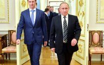Russia: Syrian Government, Rebels Sign Cease-Fire Deal - Dec 29, 2016 -  Vladimir Putin said the cease-fire, which excludes extremist groups such as the ISIS and al-Qaida affiliate, will be guaranteed by Russia and Turkey. -  Vladimir Putin said the cease-fire, which excludes extremist groups such as the ISIS and al-Qaida affiliate, will be guaranteed by Russia and Turkey., cease-fire, Kazakhstan, peace talks, Russia, Syria, Syrian Army, Syrian Rebels, Turkey,