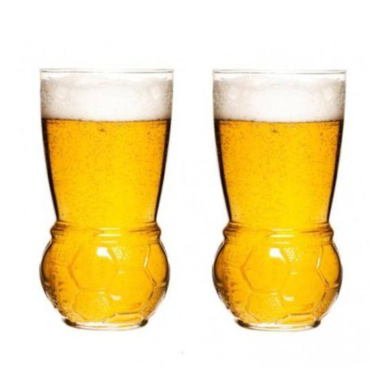 Szklanki do piwa 2 szt. Sagaform football SF-5016351 + Wysyłka już od 8,9 !!!