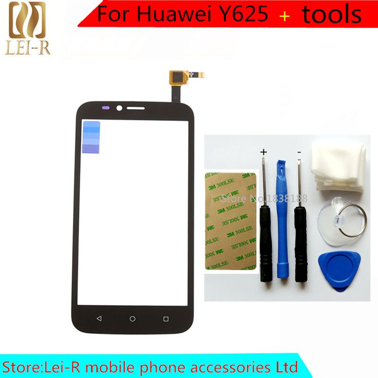 100% Original New Touch Screen For Huawei Y625 Glass Capacitive sensor For huawei y625 Touch Screen panel Black