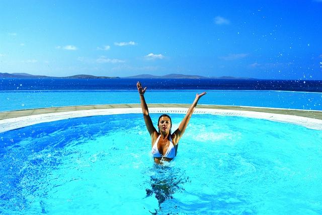 JACUZZI-Saint John Villas & Spa, Mykonos