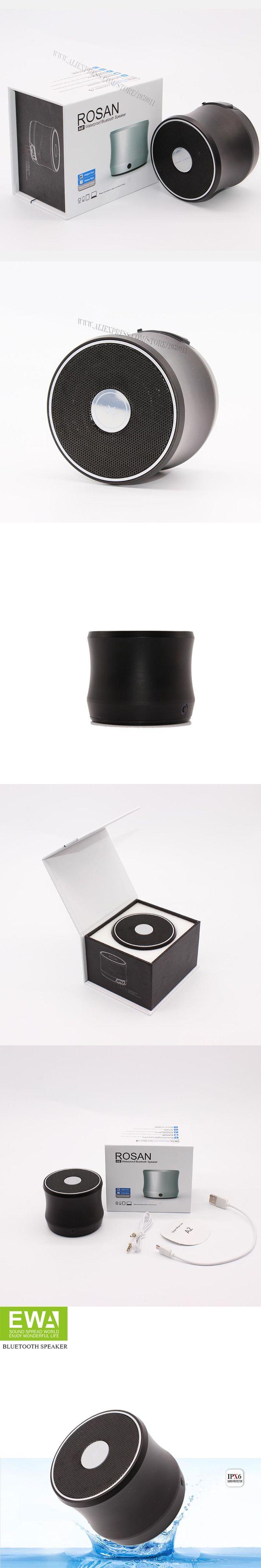 EWA A2 Wireless Bluetooth Speaker  IPX6 Waterproof Portable Bluetooth Speaker For phone /PC Sport Bluetooth Player