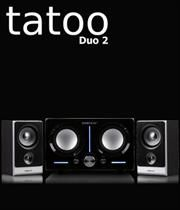 "SonicGear Tatoo Duo 2 2.1 Speakers System, Total Power Output: 40 Watts RMS ,Active Subwoofer Power 25 Watts RMS and 2x3"" 7.5 Watts RMS Satellite Speakerss, #electronics #technology #tech #electronic #device #gadget #gadgets #instatech #instagood #geek #techie #nerd #techy #photooftheday #computers #laptops #hack #screen #rosstech #dj #speakers #audio"