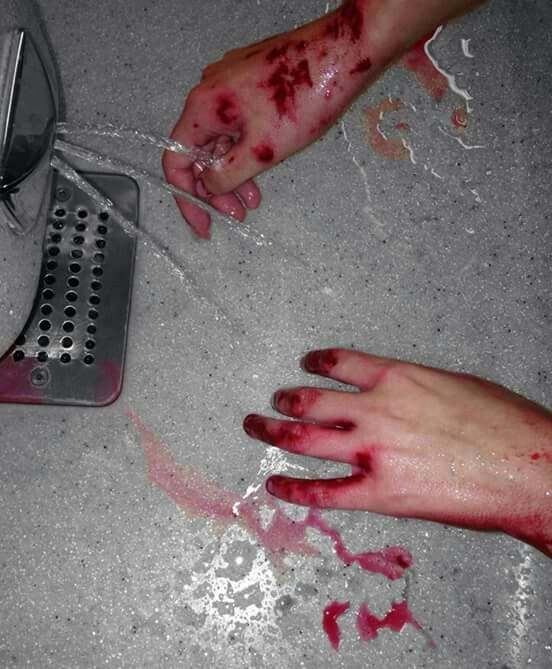 I + you = my tears, your blood