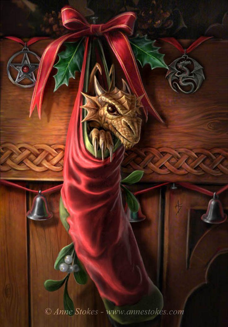 Новогодние картинки драконов