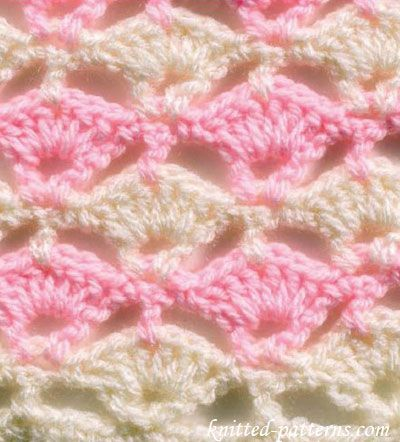 Floating Shells - Crochet Stitches - free pattern