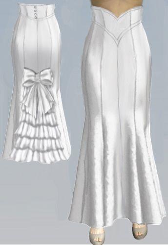 High Waist Fishtail Skirt Pattern -Amber Middaugh 2015