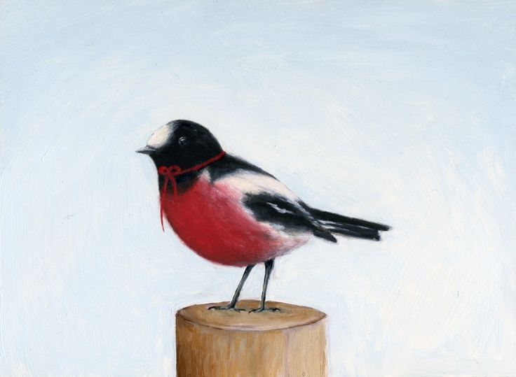 Image of Robin Red Breast Archival Print by Sarah Millicent Elliott