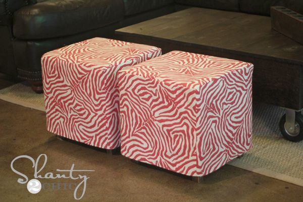 Hey there! Join us on Instagram and Pinterest to keep up with our most recent projects and sneak peeks! Check out our new how-to videos on YouTube! Make sure to subscribe to our channel so you don't miss any! As promised I am here to share how I made my ottoman slipcover! I must warn {...Read More...}