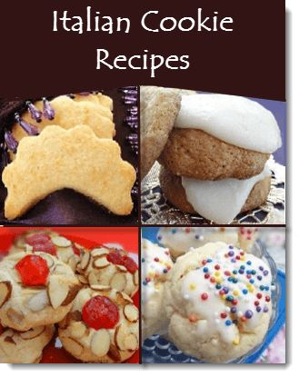 List of italian cookie recipes