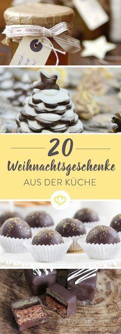 Hausgemachte Marmelade, Trinkschokolade oder feine Pralinen - und alles aus deiner Küche. Kleine Last-Minute-Geschenkideen für deine Lieben.