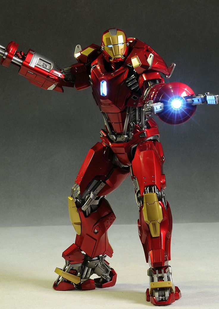 Toys For Gentleman : Iron man mk red snapper action figure
