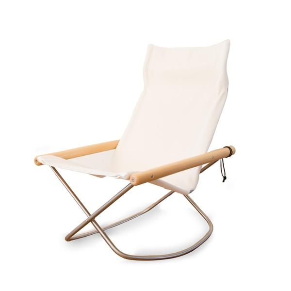 Rocking Chair White In 2020 Rocking Chair Iconic Chairs Folding Chair