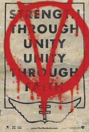 awesome v for vendetta poster