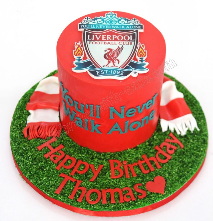 Celebrate with Cake!: Liverpool