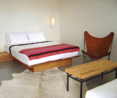 Thunderbird Motel, Marfa, Texas  (T&L - America's Coolest Hipster Hotels)
