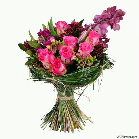 "the ""Unforgettable"" bouquet"
