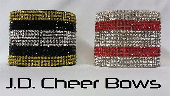 Choose Color! Bow with Bling Bracelet
