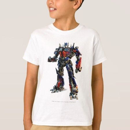 Optimus Prime CGI 2 T-Shirt - click/tap to personalize and buy
