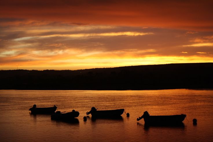 Keurbooms River during sunset - Garden Route, South Africa