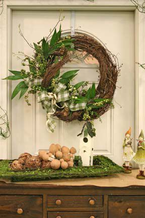 beautiful spring decor