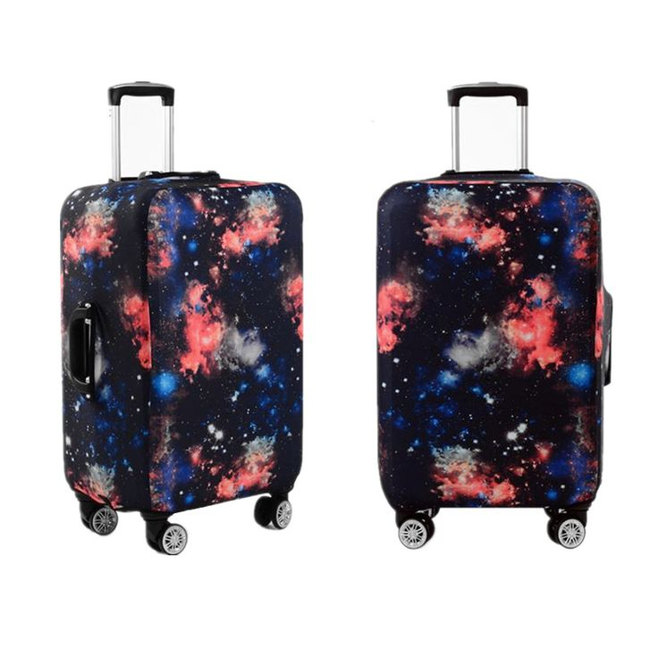 Galaxy Design Luggage Cover //Price: $17.42 & FREE Shipping //     #landscape #trip #fun