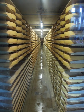 aging gruyere   Visiting the Cailler Chocolate and Gruyere Cheese Factory...IN ONE DAY