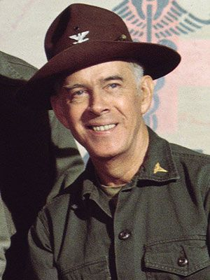 """Harry Morgan. Born Apr. 10, 1915, Detroit, MI. Died Dec. 7, 2011, Los Angeles, CA. He was an American actor & director whose TV & film career spanned six decades. He was best known for his work on the TV series """"Dragnet"""" as Officer Bill Gannon & on """"M*A*S*H"""" as Col. Potter. He was a guest star on many other TV shows & appeared in more than 100 films."""