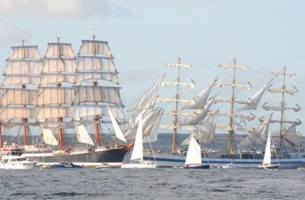 Falmouth Tall Ships 2014   Cornwall