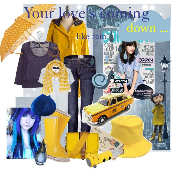 Your love's coming down like rain, created by dea-afrodite on Polyvore