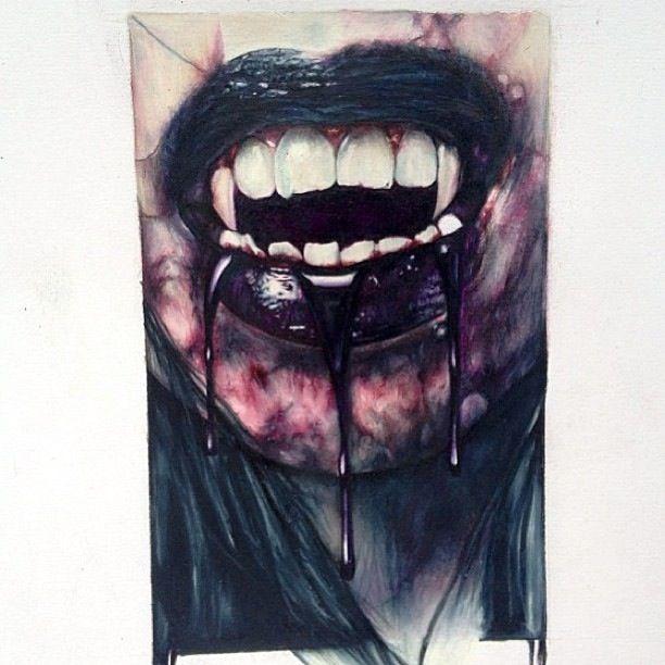 scarecrow vampir eckzähne