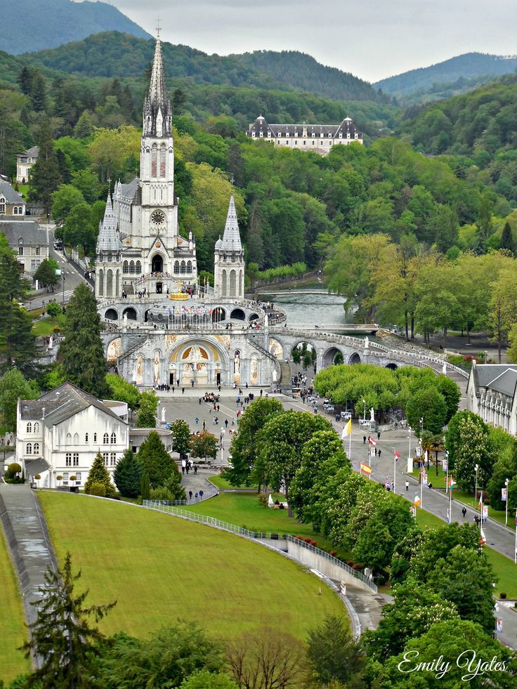 France Travel Inspiration - Lourdes France Sanctuary