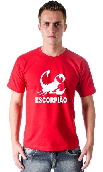 Camiseta Escorpiao - Loja de Camisetas|CamisetasEraDigital #escorpião