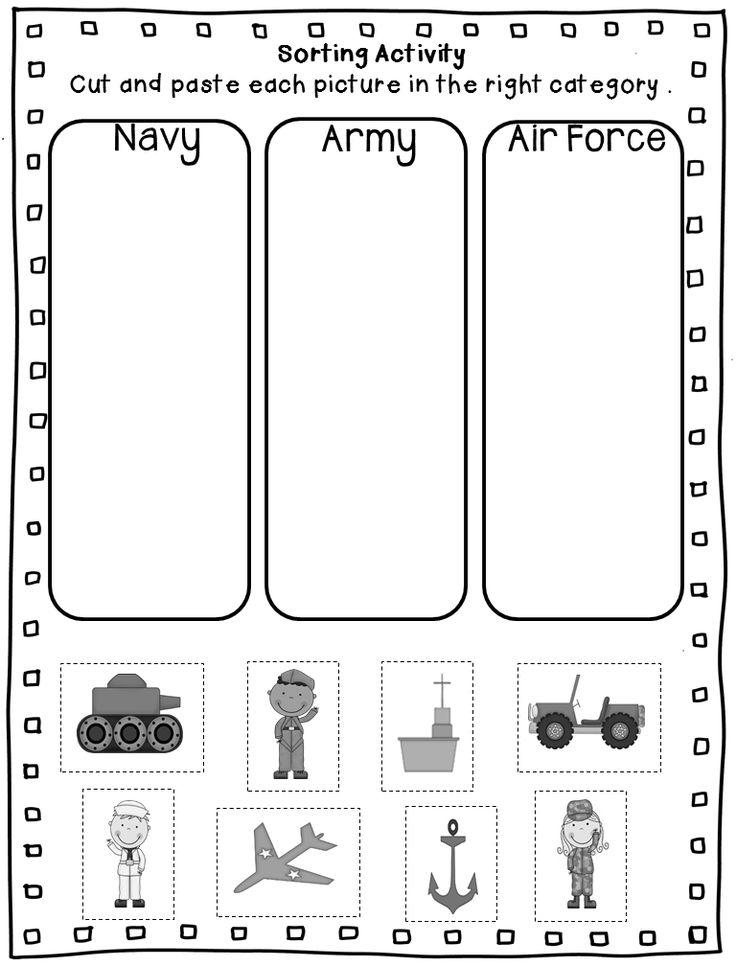 Free Veterans Day Math Worksheets