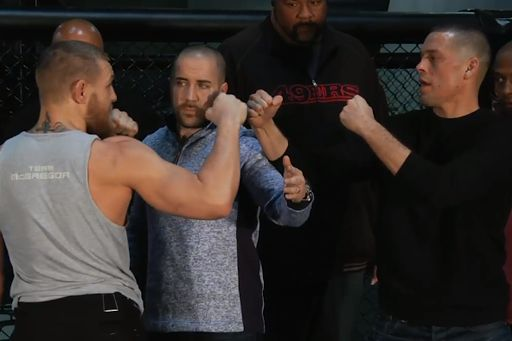 UFC 196: Watch Conor McGregor face off with Nate Diaz (Video)