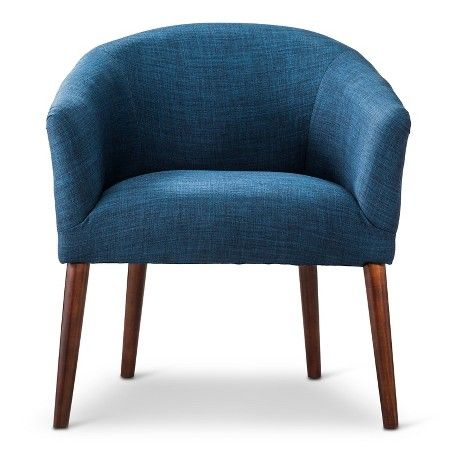 $153 Barrel Chair - Threshold™ : Target | navy blue chairs for front room/play area