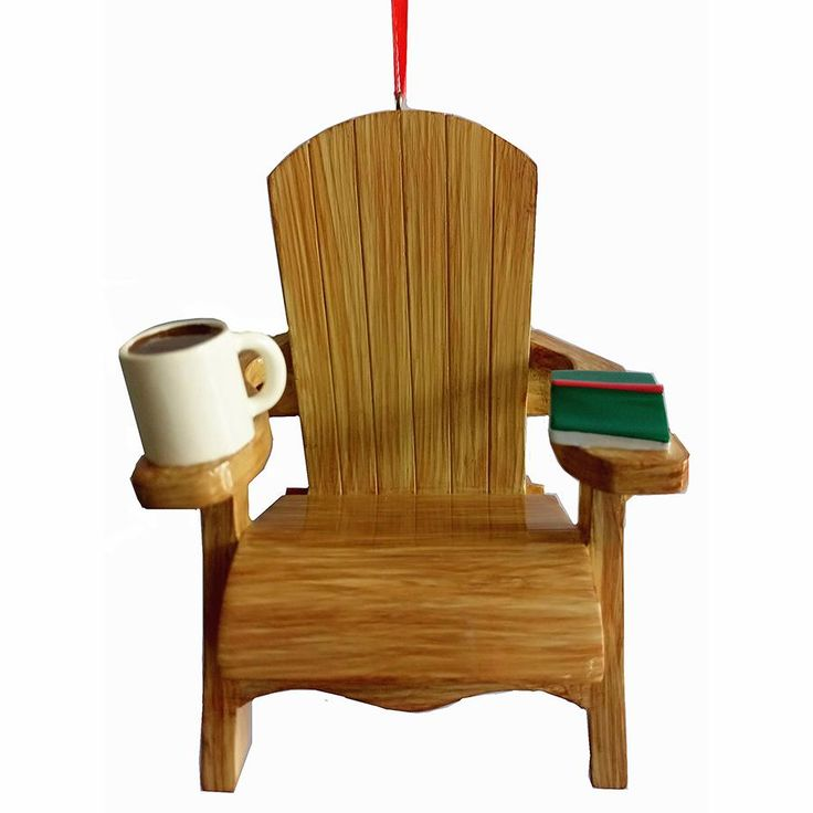 "4.35"" RESIN ADIRONDACK CHAIR Ornament"