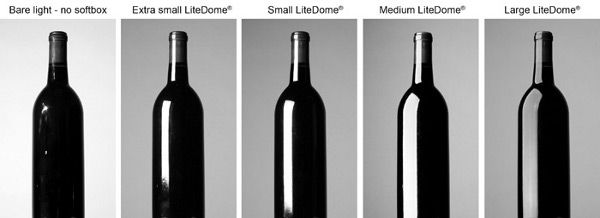 Lighting Glass Bottles http://www.photonews.ca/wp-content/uploads/2011/09/Photoflex-Understanding-How-Softboxes-Work-8-Five-Bottle-Softboxes.jpg
