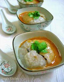 Peng's Kitchen: 彰化肉圆 Taiwanese Meatballs (Bawan)