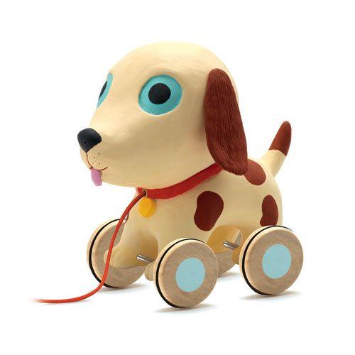 "Djeco τρεχαλίτσα βινυλίου ""Theo το μικρο σκυλακι"""