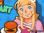 Burger Restaurant 4- Server customers and earn big tips that you can use to improve your place!  Server hamburgers, milkshakes and more but don't make the customers wait too long.